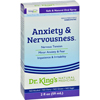 King Bio Homeopathic Anxiety and Nervousness - 2 fl oz HGR 0529453