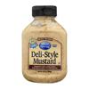 Silver Spring Mustard - Deli Style - Squeeze - Case of 9 - 9.5 oz. HGR 0531467