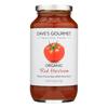 Dave's Gourmet Organic Red Heirloom Pasta Sauce - Case of 6 - 25.5 FL oz.. HGR 0535492