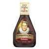 Newman's Own Organics Balsamic Salad Dressing - Vinegar - Case of 6 - 16 Fl oz.. HGR 0540740