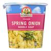 Dr. Mcdougall's Vegan Spring Onion Noodle Soup Big Cup - Case of 6 - 1.9 oz.. HGR 0548784