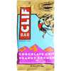 Clif Bar Organic Chocolate Chip Peanut Butter Crunch - Case of 12 - 2.4 oz HGR 554865