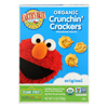 Earth's Best Organic Original Sesame Street Crunchin Crackers - Case of 6 - 5.3 oz. HGR 0557090