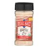 Real Salt Garlic Salt - Organic - Case of 6 - 4.75 oz.. HGR 0560961
