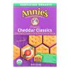 Organic Cheddar Classic Crackers - Case of 12 - 6.5 oz..