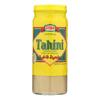 Ziyad Brand Tahini - Sesame Paste - Case of 6 - 16 oz.. HGR 0574038