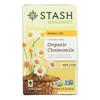 Organic Herbal Tea - Chamomile - Case of 6 - 18 Bags