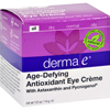 Clean and Green: Derma E - Age-Defying Eye Creme with Astaxanthin and Pycnogenol - 0.5 oz