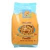 Pasta - Organic - 100 Percent Durum Semolina - Fusilli - 16 oz.. - case of 12