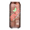 Zevia Soda - Zero Calorie - Ginger Root Beer - Tall Girls Can - 16 oz.. - case of 12 HGR 0578120