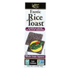 Exotic Rice Toast - Purple Rice and Black Sesame - Case of 12 - 2.25 oz.