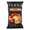 Terra Chips Exotic Vegetable Chips - Original - Case of 12 - 5 oz.. HGR 0584847