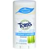 Tom's of Maine Natural Long-Lasting Deodorant Stick Lemongrass - 2.25 oz - Case of 6 HGR 0585638