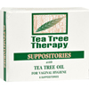 Tea Tree Therapy Vaginal Suppositories with Tea Tree Oil - 6 Suppositories HGR 0587766