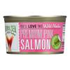 Wild Pink Salmon - Salted - Case of 12 - 7.5 oz..