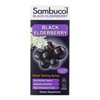 Cough Cold Cough Syrup: Sambucol - Black Elderberry Syrup Cold and Flu Relief Original - 4 fl oz