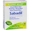 Boiron Sabadil Allergy - 60 Tablets HGR 0599068