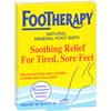 Queen Helene Footherapy Mineral Salt - Trial Size - Case of 6 - 3 oz HGR 0606202