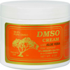 Vitamins OTC Meds Pain Relief: DMSO - Cream with Aloe Vera Rose Scented - 4 oz