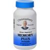 Vitamins OTC Meds Vitamin C: Dr. Christopher's - Original Formulas Memory Plus Formula - 450 mg -100 Caps