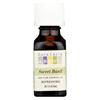 Aura Cacia Pure Essential Oil Sweet Basil - 0.5 fl oz HGR 0620062