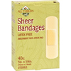Clean and Green: All Terrain - Bandages - Sheer - 3/4 in x 3 in - 40 ct