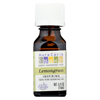 hgr: Aura Cacia - Pure Essential Oil Lemongrass - 0.5 fl oz