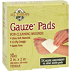 Clean and Green: All Terrain - Gauze Pads Latex Free - 10 Pads