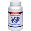 Vitamins OTC Meds Antioxidants: Healthy Origins - Alpha Lipoic Acid - 600 mg - 150 Capsules