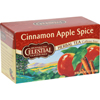 Celestial Seasonings Herbal Tea Caffeine Free Cinnamon Apple Spice - 20 Tea Bags - Case of 6 HGR 629709