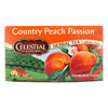 Celestial Seasonings Herbal Tea Caffeine Free Country Peach Passion - 20 Tea Bags - Case of 6 HGR 630194