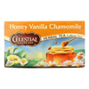 Celestial Seasonings Herbal Tea Caffeine Free Honey Vanilla Chamomile - 20 Tea Bags - Case of 6 HGR 630392