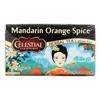 Celestial Seasonings Herbal Tea Caffeine Free Mandarin Orange Spice - 20 Tea Bags - Case of 6 HGR 630624