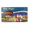 Celestial Seasonings Herbal Tea Caffeine Free Mint Magic - 20 Tea Bags - Case of 6 HGR 630657