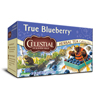 Celestial Seasonings Herbal Tea Caffeine Free True Blueberry - 20 Tea Bags - Case of 6 HGR 0631135