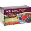 Herb Tea Wild Berry Zinger - 20 Tea Bags - Case of 6