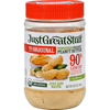 Just Great Stuff Powdered Peanut Butter - 6.43 oz - Case of 12 HGR 0638684