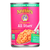Annie's Homegrown Organic All Stars Pasta In Tomato and Cheese Sauce - Case of 12 - 15 oz. HGR 0645044