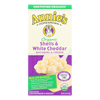Annie's Homegrown Organic Shells and White Cheddar Macaroni and Cheese - Case of 12 - 6 oz. HGR 0645085