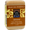 soaps and hand sanitizers: One With Nature - Almond Soap Bar - 7 oz