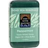 soaps and hand sanitizers: One With Nature - Dead Sea Mineral Hemp Soap - 7 oz