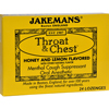 cough drops: Jakemans - Throat and Chest Lozenges - Honey and Lemon - 24 Pack