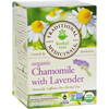 Traditional Medicinals Organic Chamomile with Lavender Herbal Tea - 16 Tea Bags HGR 669192