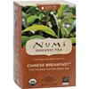 Clean and Green: Numi - Tea Organic Chinese Breakfast - Black Tea - 18 Bags