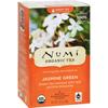 Tea Brewers Dispensers Tea Filters: Numi - Tea Jasmine Green Tea - Medium Caffeine - 18 Bags