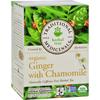 Organic Golden Ginger Herbal Tea - 16 Tea Bags