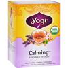 Yogi Teas Organic Calming - Caffeine Free - 16 Tea Bags HGR 671529