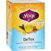 Tea Brewers Dispensers Tea Filters: Yogi Teas - Detox - Caffeine Free - 16 Tea Bags