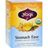 Yogi Teas Stomach Ease - Caffeine Free - 16 Tea Bags HGR 671792