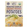 Edward & Sons Organic Mashed Potatoes - Roasted Garlic - Case of 6 - 3.5 oz.. HGR 0675009